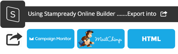 Marketr - Responsive Email + StampReady Builder
